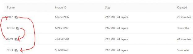 ownCloud-Docker-Image Update-Prozess